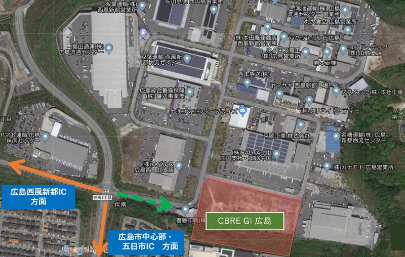 CBREGI_hiroshima_access