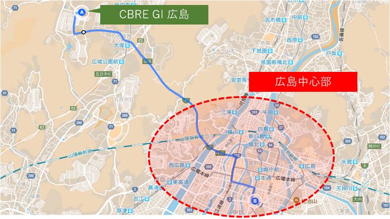 CBREGI_hiroshima_city_access